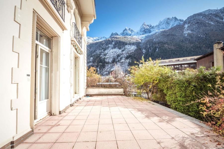Wakacje w górach Apartament 4 pokojowy 6 osób (SCALA) - Résidence du Mont-Blanc - Chamonix - Na zewnątrz latem