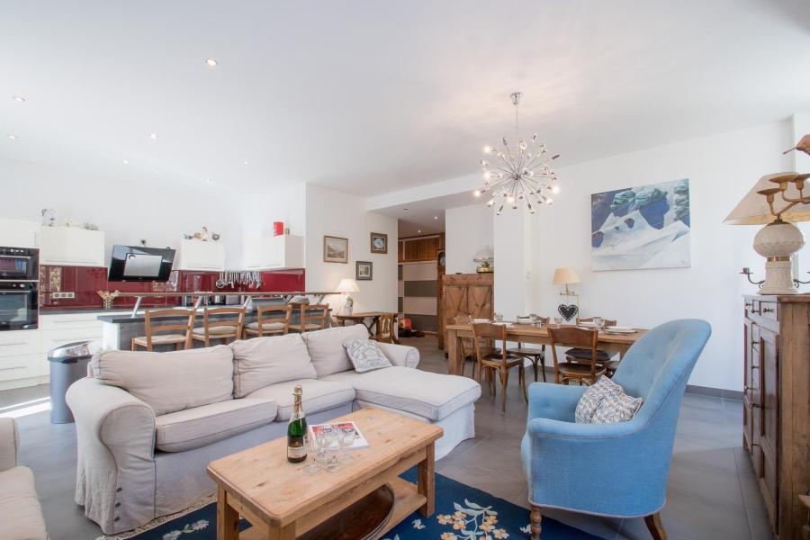 Wakacje w górach Apartament 4 pokojowy 6 osób (SCALA) - Résidence du Mont-Blanc - Chamonix - Pokój gościnny