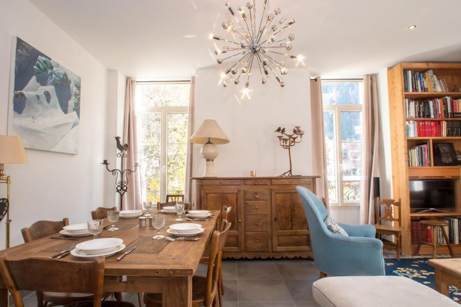 Wakacje w górach Apartament 4 pokojowy 6 osób (SCALA) - Résidence du Mont-Blanc - Chamonix - Stołem