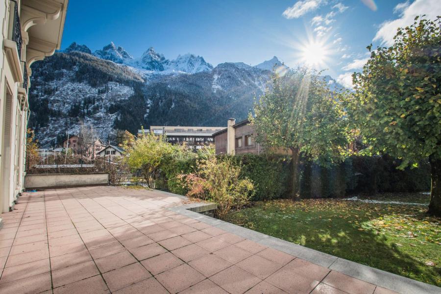Wakacje w górach Apartament 4 pokojowy 6 osób (SCALA) - Résidence du Mont-Blanc - Chamonix - Taras