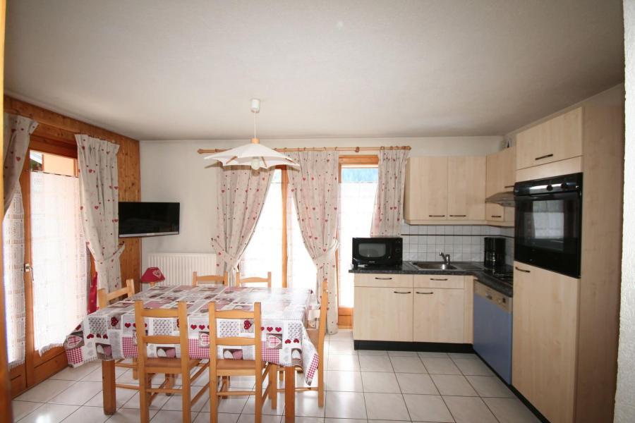Wakacje w górach Apartament 3 pokojowy 6 osób (3) - Résidence Echo des Montagnes - Châtel - Pokój gościnny