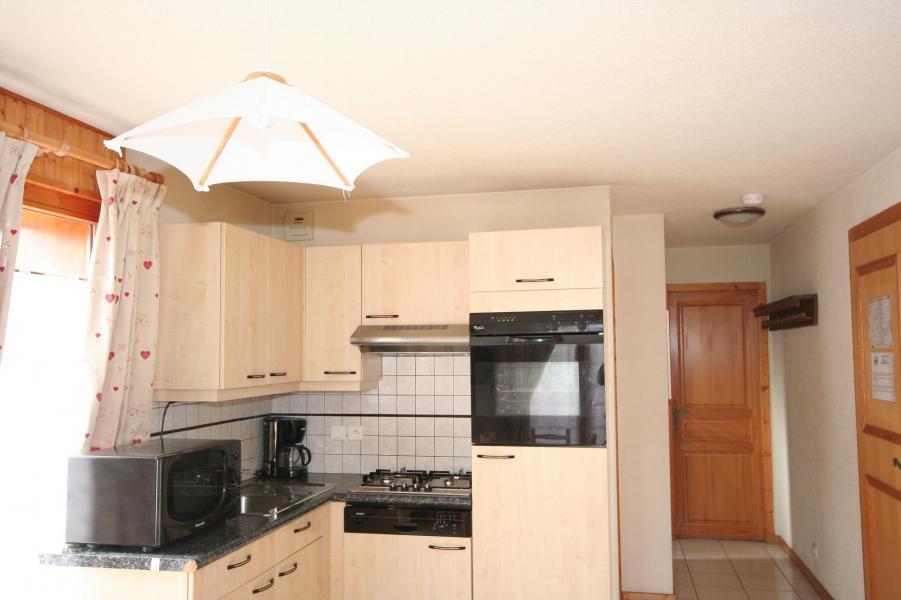 Wakacje w górach Apartament 3 pokojowy 6 osób (6) - Résidence Echo des Montagnes - Châtel - Aneks kuchenny
