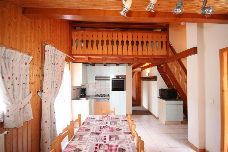 Wakacje w górach Apartament 3 pokojowy z antresolą 7 osób (7) - Résidence Echo des Montagnes - Châtel - Zakwaterowanie