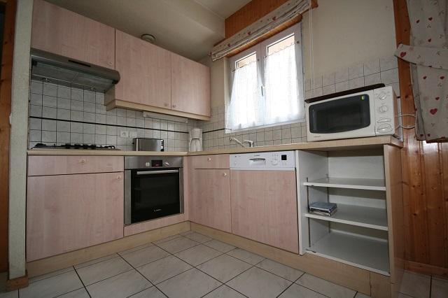 Wakacje w górach Apartament 5 pokojowy 10 osób (2) - Résidence Echo des Montagnes - Châtel - Kuchnia otwarta