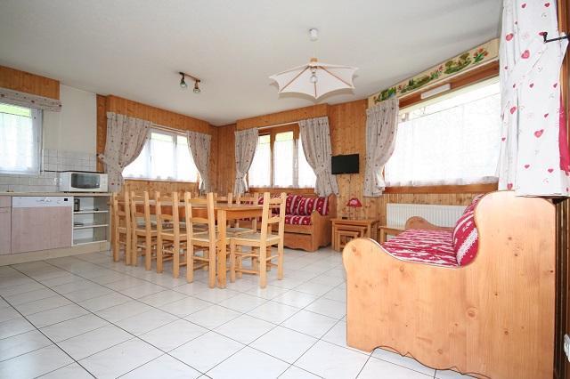 Wakacje w górach Apartament 5 pokojowy 10 osób (2) - Résidence Echo des Montagnes - Châtel - Pokój gościnny