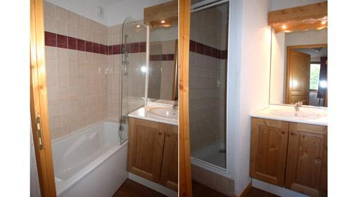 Holiday in mountain resort 3 room apartment 6 people - Résidence Ecrin des Neiges - Vars - Bath-tub