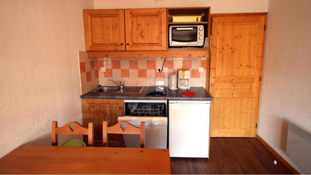 Vacances en montagne Appartement 2 pièces 4 personnes (U002) - Résidence Ecrin des Neiges - Vars - Cuisine