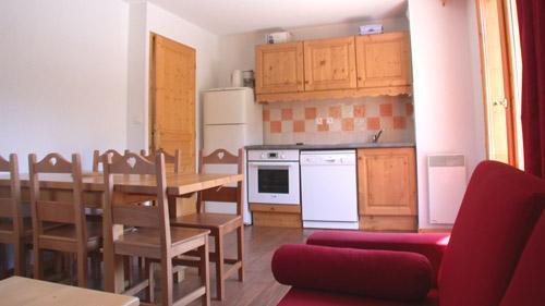 Vakantie in de bergen Appartement 3 kamers 6 personen (U004) - Résidence Ecrin des Neiges - Vars - Keukenblok