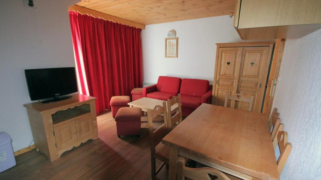 Vakantie in de bergen Résidence Ecrin des Neiges - Vars - Woonkamer
