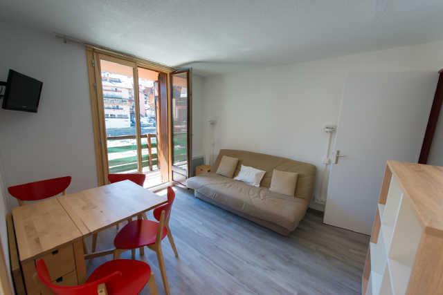 Vacaciones en montaña Apartamento 3 piezas cabina para 6 personas (35B) - Résidence Edelweiss - Risoul - Banqueta