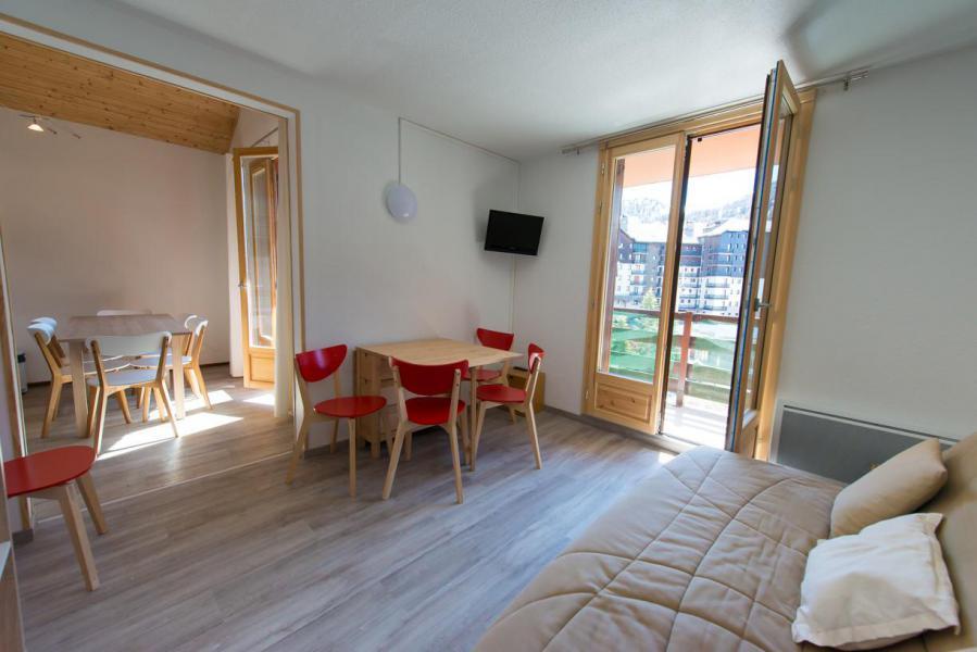 Vacaciones en montaña Apartamento 3 piezas cabina para 6 personas (35B) - Résidence Edelweiss - Risoul - Estancia