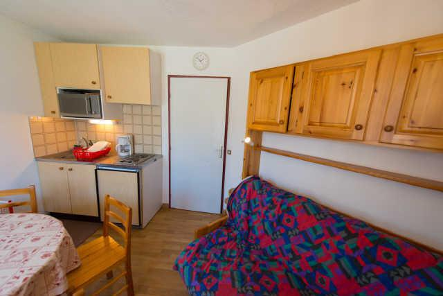 Vacaciones en montaña Estudio -espacio montaña- para 4 personas (1B) - Résidence Edelweiss - Risoul - Alojamiento