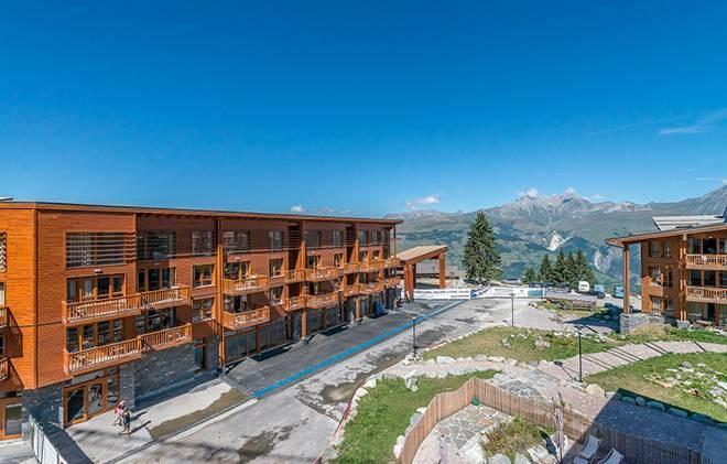 Location au ski Residence Edenarc - Les Arcs - Extérieur été