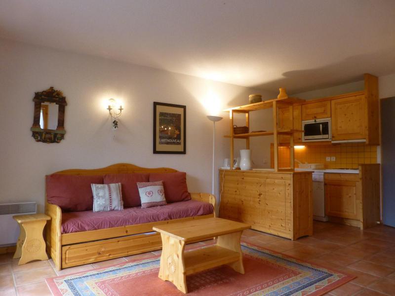 Urlaub in den Bergen 3-Zimmer-Holzhütte für 6 Personen (3304) - Résidence Epilobes - Peisey-Vallandry - Sitzbank