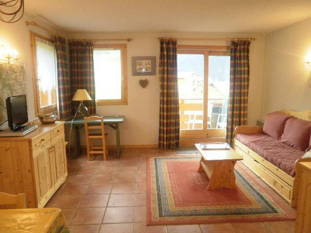 Urlaub in den Bergen 3-Zimmer-Holzhütte für 6 Personen (3304) - Résidence Epilobes - Peisey-Vallandry - Wohnzimmer