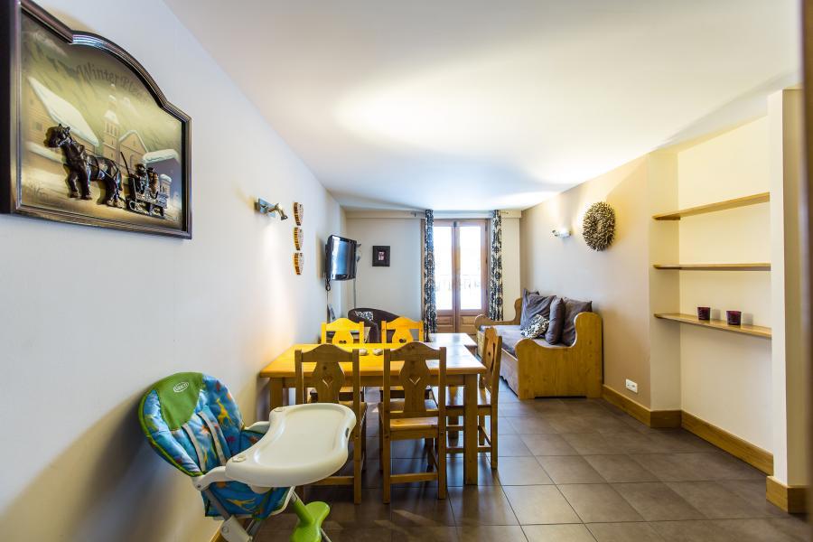 Vacances en montagne Résidence et Spa Vallorcine Mont Blanc - Vallorcine - Coin repas
