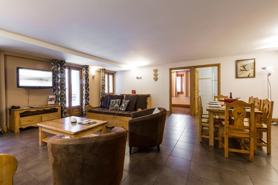 Urlaub in den Bergen Résidence et Spa Vallorcine Mont Blanc - Vallorcine - Esszimmer