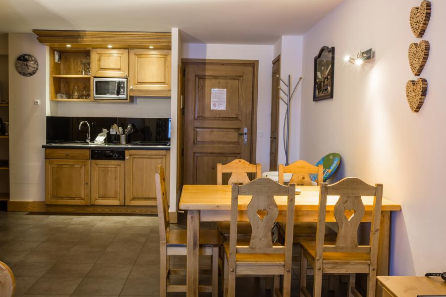 Urlaub in den Bergen Résidence et Spa Vallorcine Mont Blanc - Vallorcine - Küche