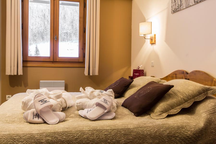 Urlaub in den Bergen Résidence et Spa Vallorcine Mont Blanc - Vallorcine - Schlafzimmer