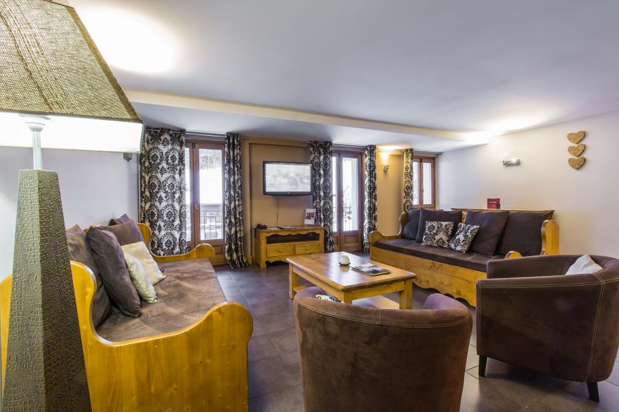 Urlaub in den Bergen Résidence et Spa Vallorcine Mont Blanc - Vallorcine - Sofa
