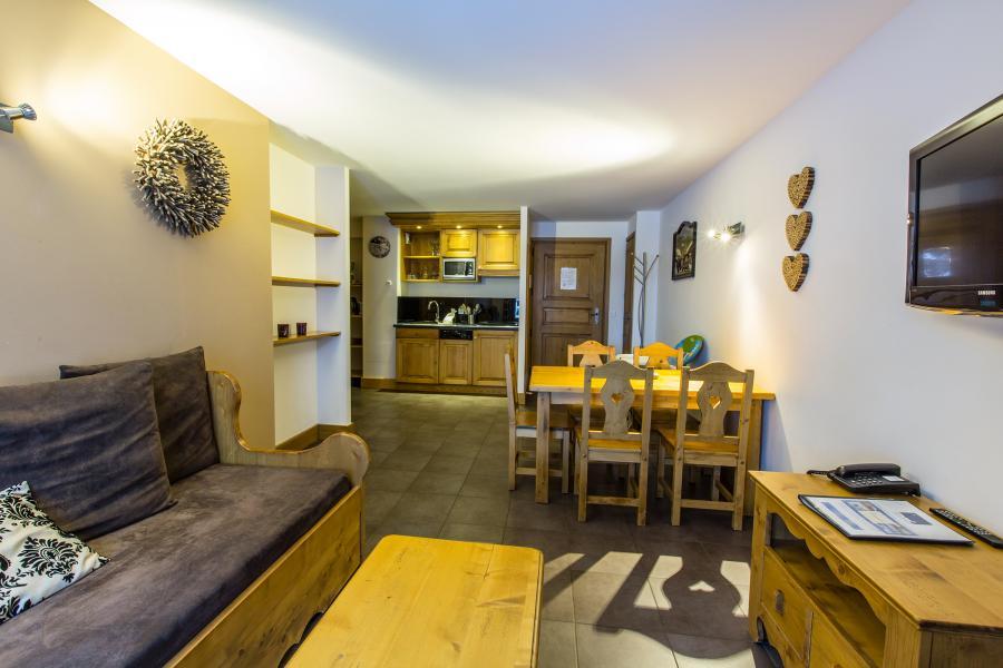 Urlaub in den Bergen Résidence et Spa Vallorcine Mont Blanc - Vallorcine - Wohnzimmer