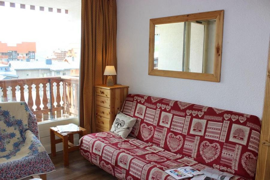 Vacances en montagne Studio cabine 4 personnes (42) - Résidence Eterlous - Val Thorens - Canapé