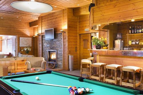 Vacances en montagne Résidence Eureca - Brides Les Bains - Billard