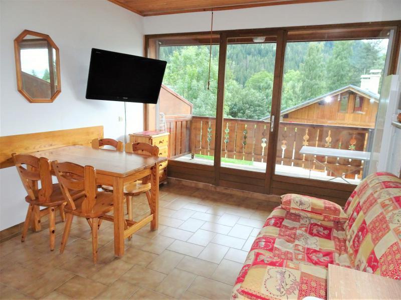 Wakacje w górach Studio z alkową 4 osoby (CAMPANUL) - Résidence Flor'Alpes - Champagny-en-Vanoise