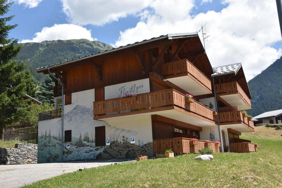 Location au ski Résidence Flor'Alpes - Champagny-en-Vanoise - Extérieur été