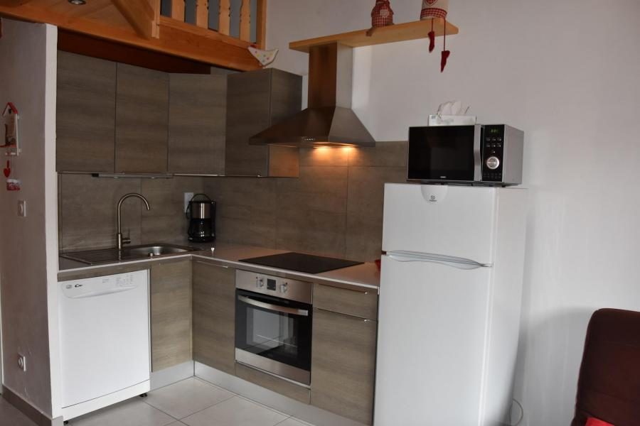Wakacje w górach Apartament 2 pokojowy 4 osób (GENTIANE) - Résidence Flor'Alpes - Champagny-en-Vanoise - Aneks kuchenny