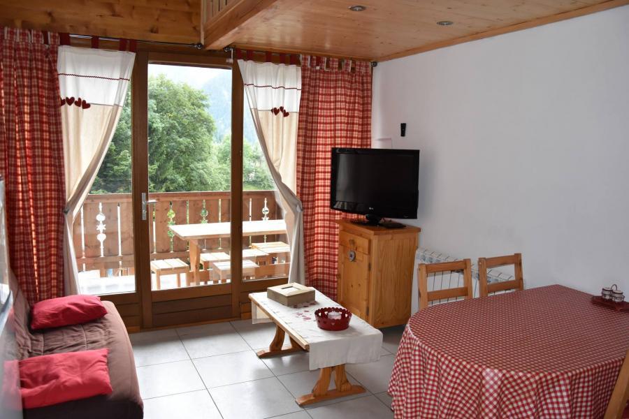 Wakacje w górach Apartament 2 pokojowy 4 osób (GENTIANE) - Résidence Flor'Alpes - Champagny-en-Vanoise - Pokój gościnny