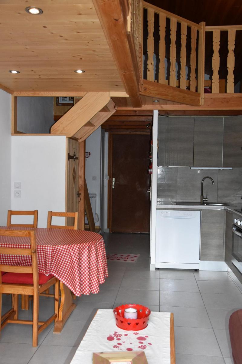 Wakacje w górach Apartament 2 pokojowy 4 osób (GENTIANE) - Résidence Flor'Alpes - Champagny-en-Vanoise - Stołem