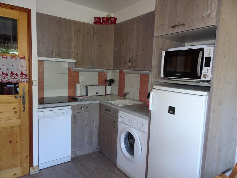 Wakacje w górach Apartament duplex 3 pokojowy 4 osób (CHARDON) - Résidence Flor'Alpes - Champagny-en-Vanoise - Aneks kuchenny