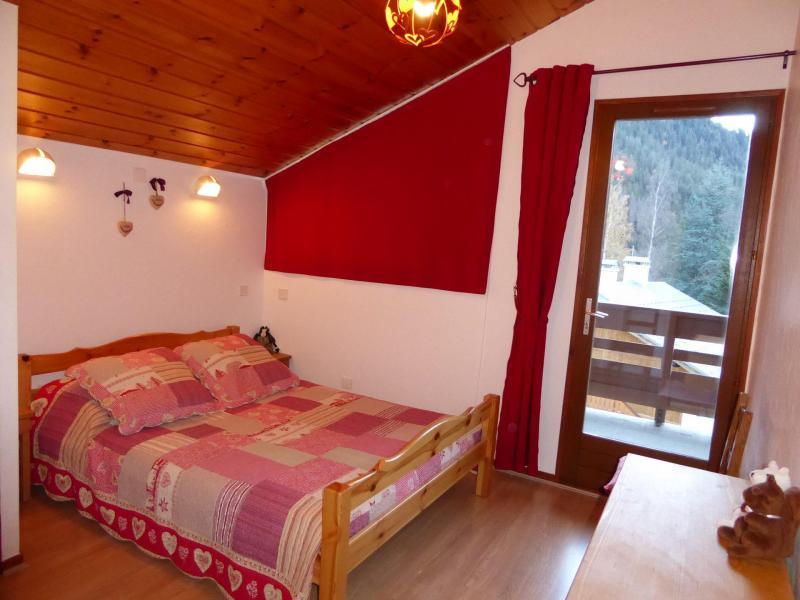 Wakacje w górach Apartament duplex 3 pokojowy 4 osób (CHARDON) - Résidence Flor'Alpes - Champagny-en-Vanoise - Łóżkem małżeńskim