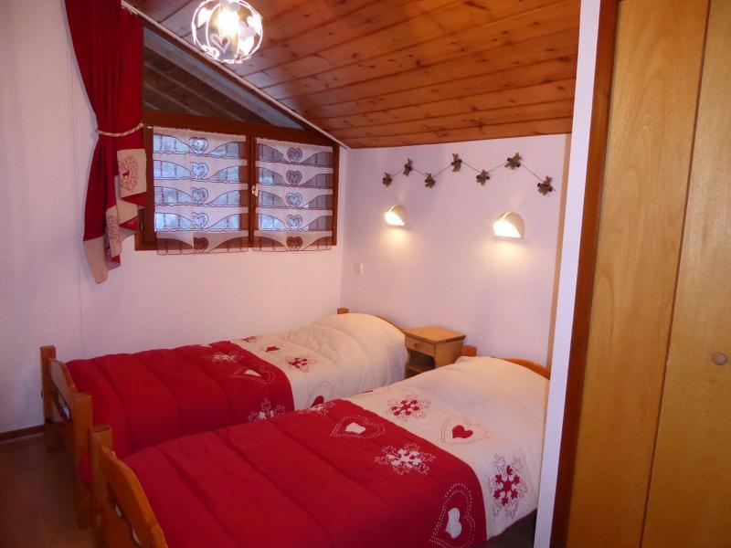 Wakacje w górach Apartament duplex 3 pokojowy 4 osób (CHARDON) - Résidence Flor'Alpes - Champagny-en-Vanoise - Łóżkiem