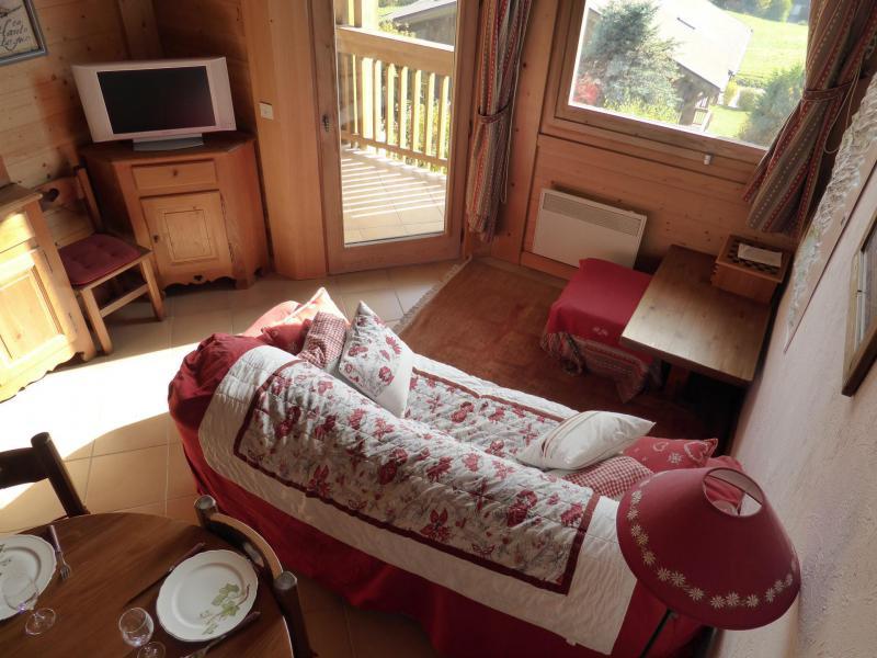 Каникулы в горах Апартаменты 3 комнат с мезонином 6 чел. (A1) - Résidence Fontaine Désir - Combloux