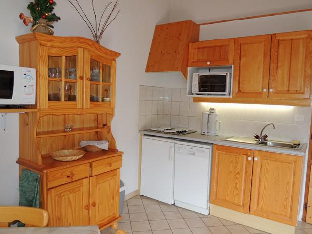 Vacances en montagne Appartement 3 pièces mezzanine 6 personnes - Résidence Forsythia - Châtel - Cuisine