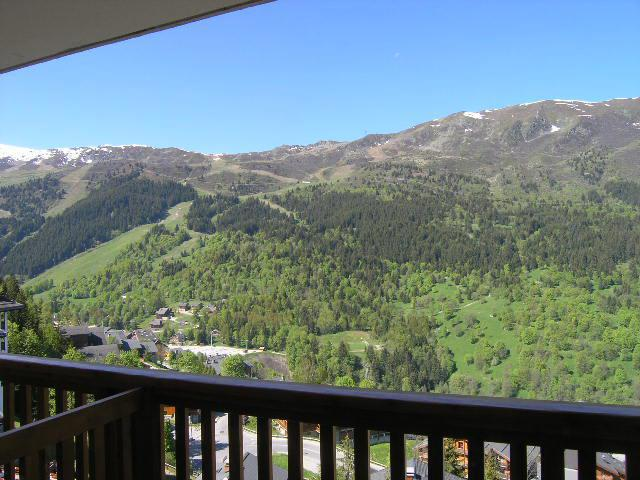 Location au ski Studio 4 personnes (5H) - Résidence Frasse - Méribel - Extérieur été