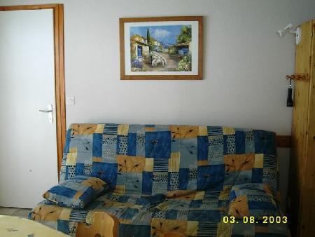 Vacaciones en montaña Apartamento 3 piezas para 6 personas (17) - Résidence Fuchsia - Châtel - Estancia