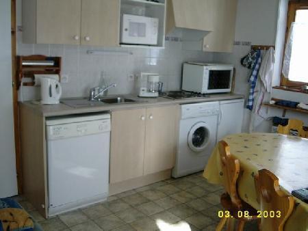 Vacaciones en montaña Apartamento 3 piezas para 6 personas (17) - Résidence Fuchsia - Châtel - Kitchenette