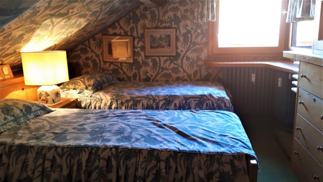 Vacaciones en montaña Apartamento 3 piezas mezzanine para 5 personas (14) - Résidence Gelinotte - Méribel - Cama individual