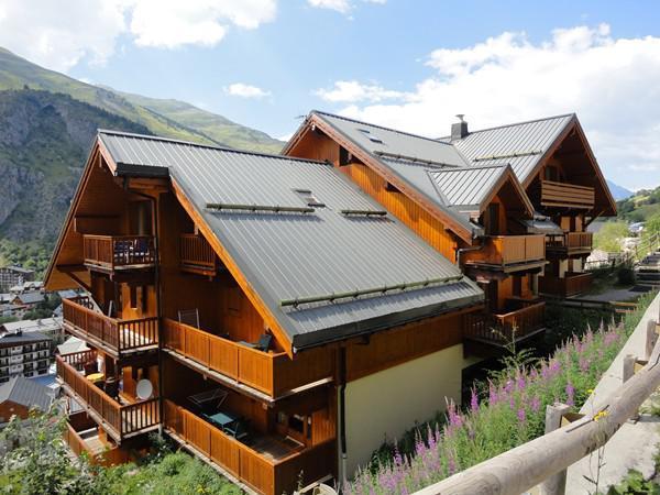 Vacaciones en montaña Résidence Gentiane Hameau de la Vallée d'Or - Valloire - Verano