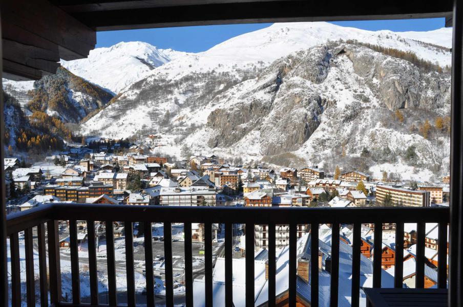 Vacaciones en montaña Apartamento 2 piezas para 4 personas (102) - Résidence Gentiane Hameau de la Vallée d'Or - Valloire - Balcón