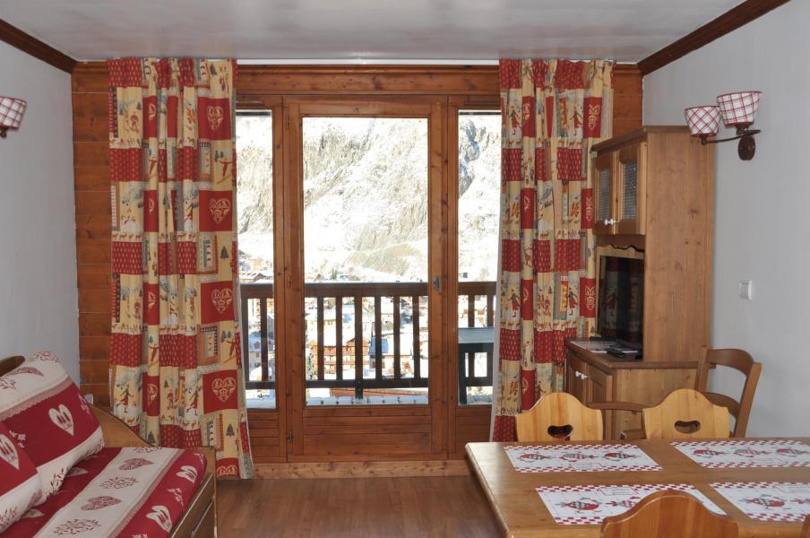 Vacaciones en montaña Apartamento 2 piezas para 4 personas (102) - Résidence Gentiane Hameau de la Vallée d'Or - Valloire - Estancia