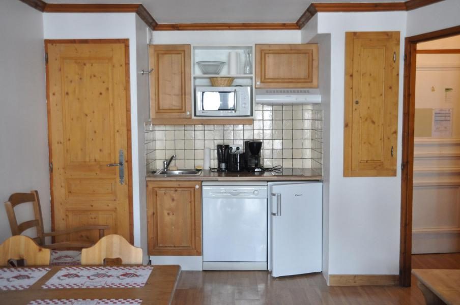 Vacaciones en montaña Apartamento 2 piezas para 4 personas (102) - Résidence Gentiane Hameau de la Vallée d'Or - Valloire - Kitchenette