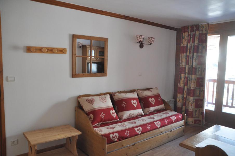 Vacaciones en montaña Apartamento 2 piezas para 4 personas (102) - Résidence Gentiane Hameau de la Vallée d'Or - Valloire - Sofá-cama