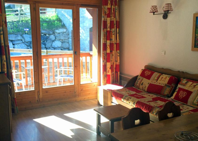 Vacaciones en montaña Apartamento 2 piezas para 4 personas (305) - Résidence Gentiane Hameau de la Vallée d'Or - Valloire - Sofá-cama