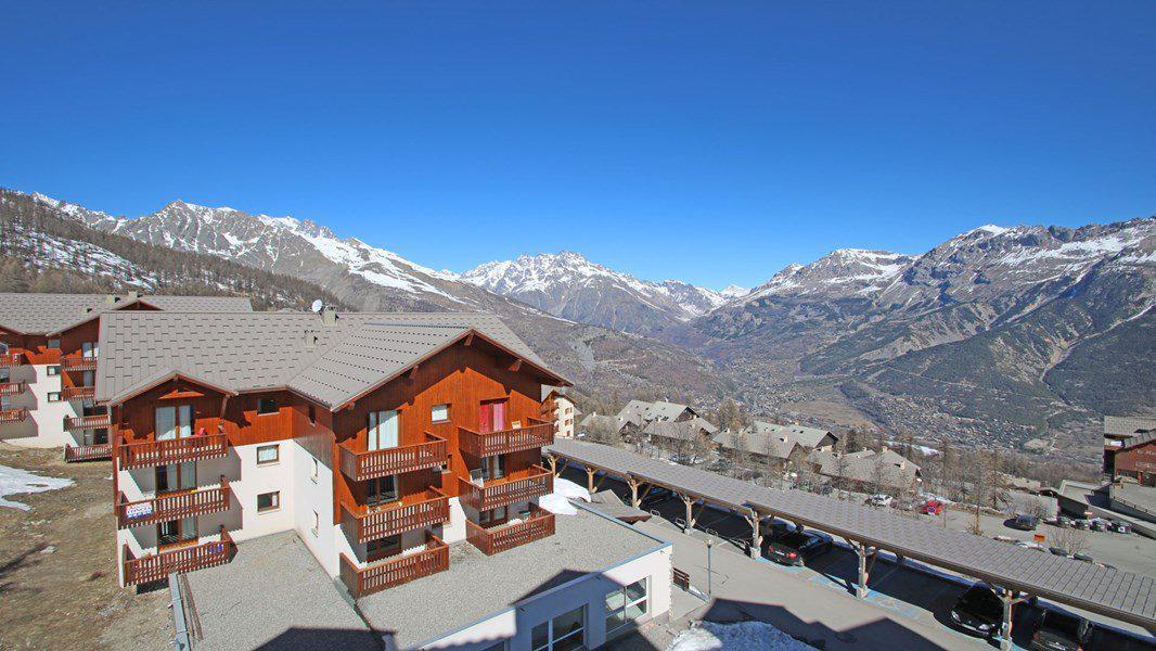 Wakacje w górach Apartament 3 pokojowy 6 osób (C35) - Résidence Gentianes - Puy-Saint-Vincent - Na zewnątrz latem