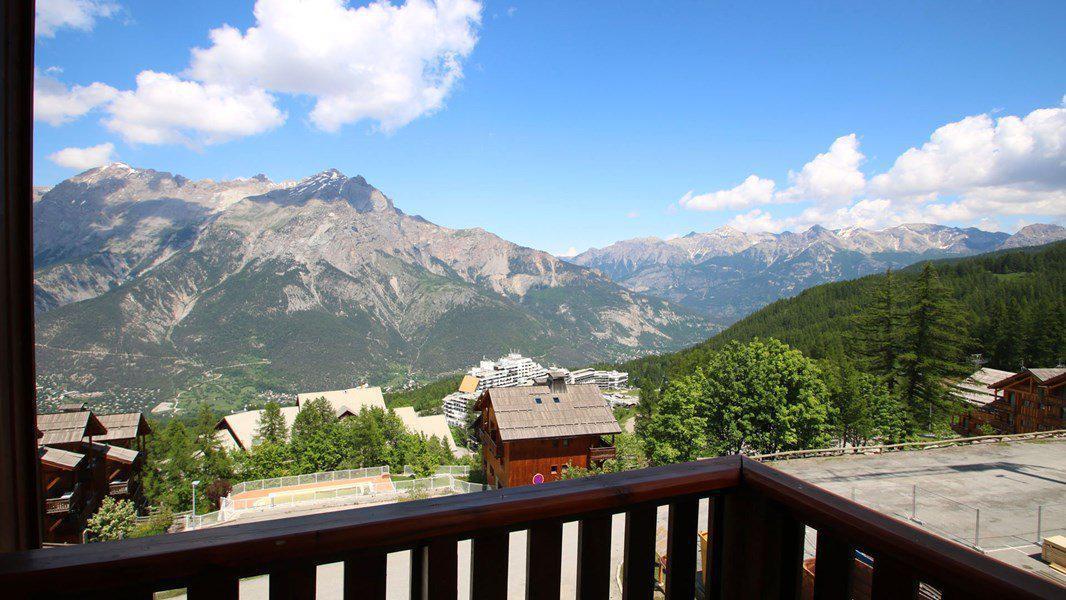 Wakacje w górach Apartament 3 pokojowy 6 osób (D26) - Résidence Gentianes - Puy-Saint-Vincent - Na zewnątrz latem