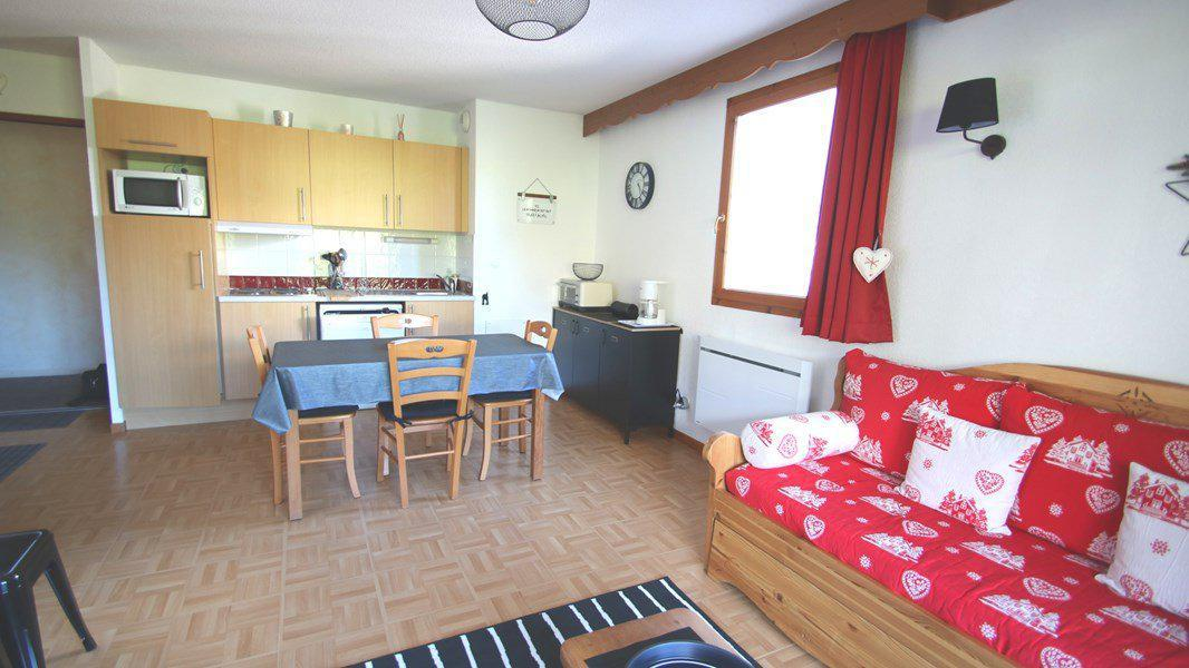 Wakacje w górach Apartament 3 pokojowy 6 osób (EC2) - Résidence Gentianes - Puy-Saint-Vincent
